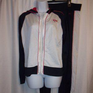 Vintage Nike L Hooded Jacket Sz XL Track Pants